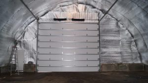 fabric building insulation using thermofoil
