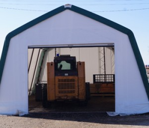 portable fabric building garage or utility