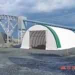 38' Fabric Portable Buildings