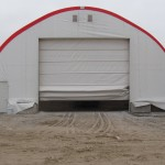 46 wide Portable Building Fabric Door