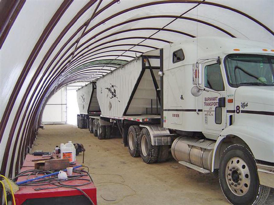 Storage Building for Semi truck