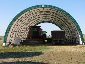 Farm Equipment Storage Building