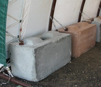 Portable fabric building foundations portable garage and for House foundation options
