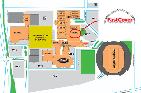 Canada's Farm Progress Show Floor Plan 2016