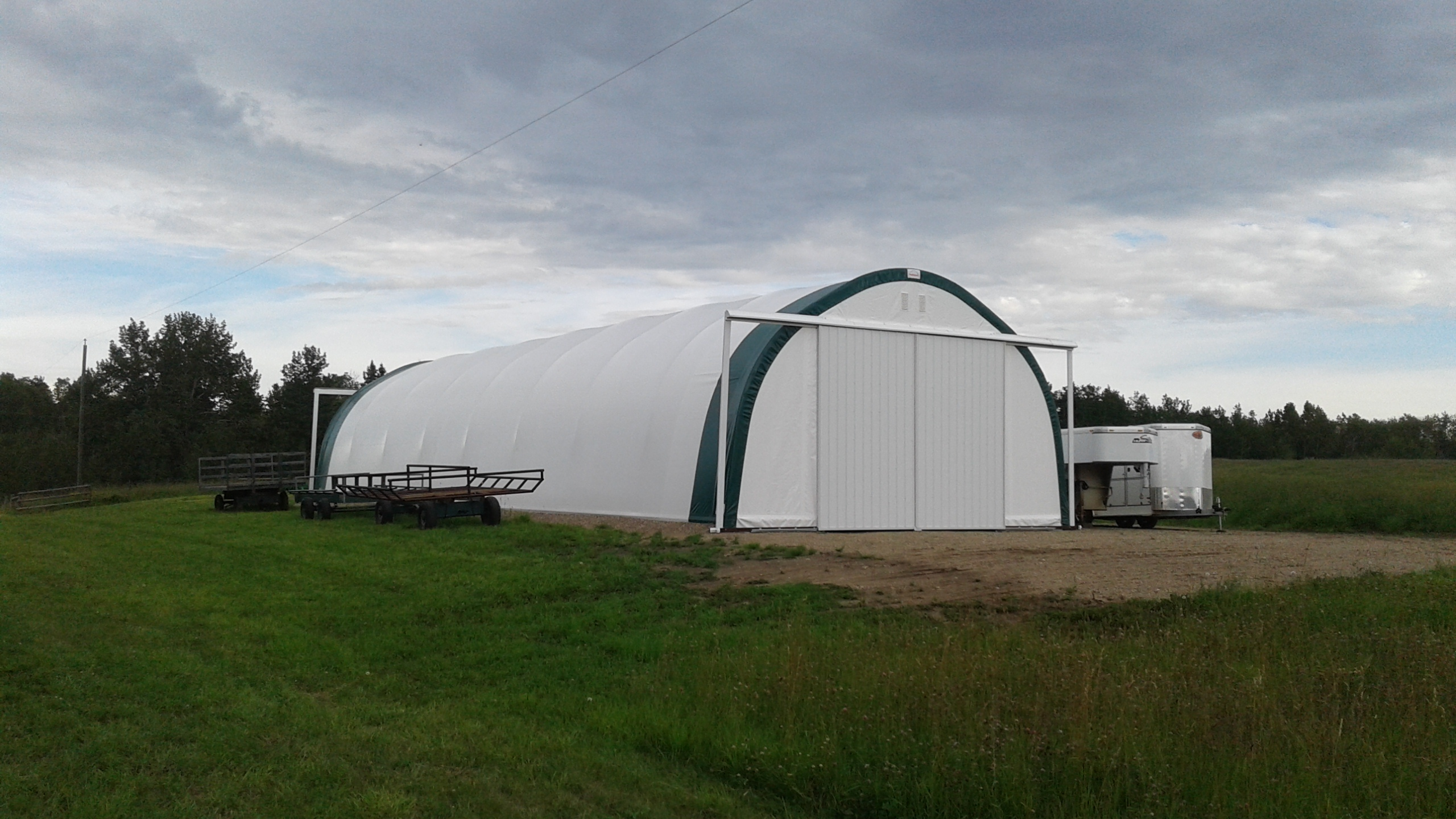 Portable Farm Buildings : Fast cover exhibits at canadian western agribition