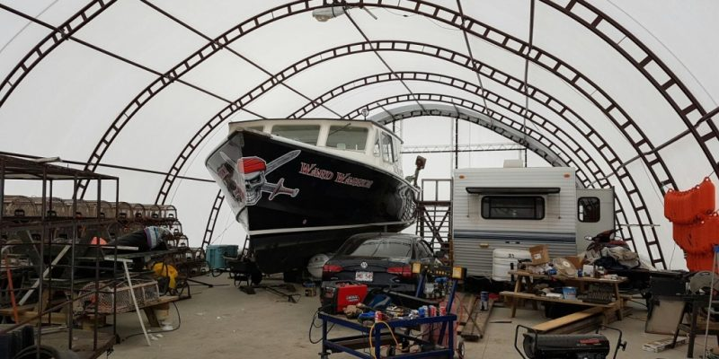 Fishing Boat Storage and Maintenance