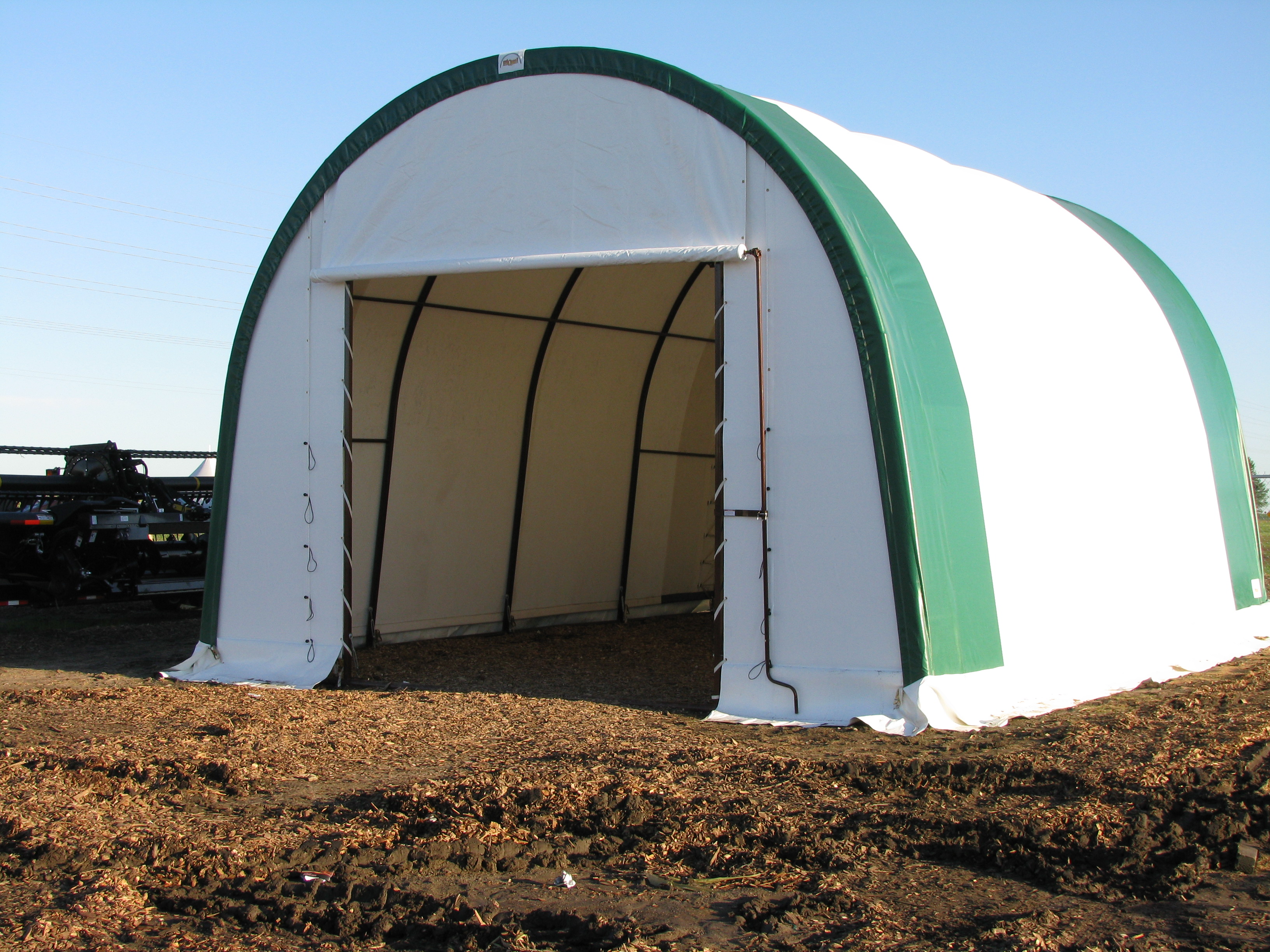 Portable Fabric Structures : Price drop alert one only fastcover portable