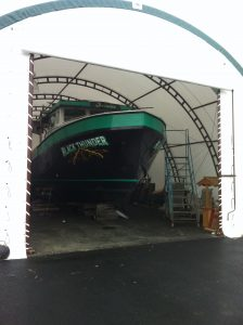 Commercial Fishing Storage Building