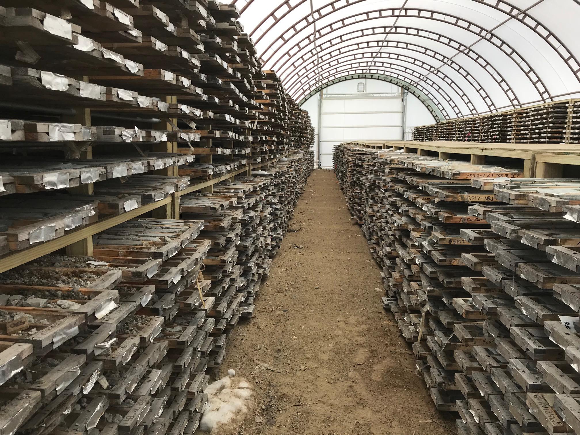 Mine Site Storage Buildings Springpole Mining