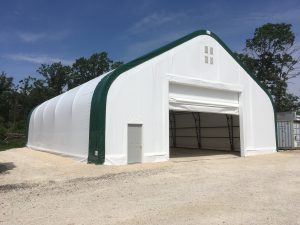 On Farm Equipment Storage Building