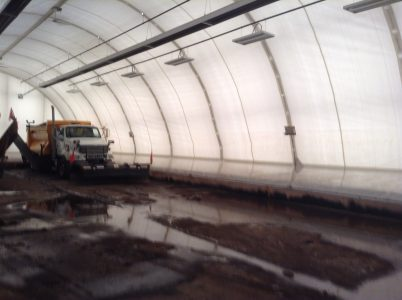 fabric building insulation liner